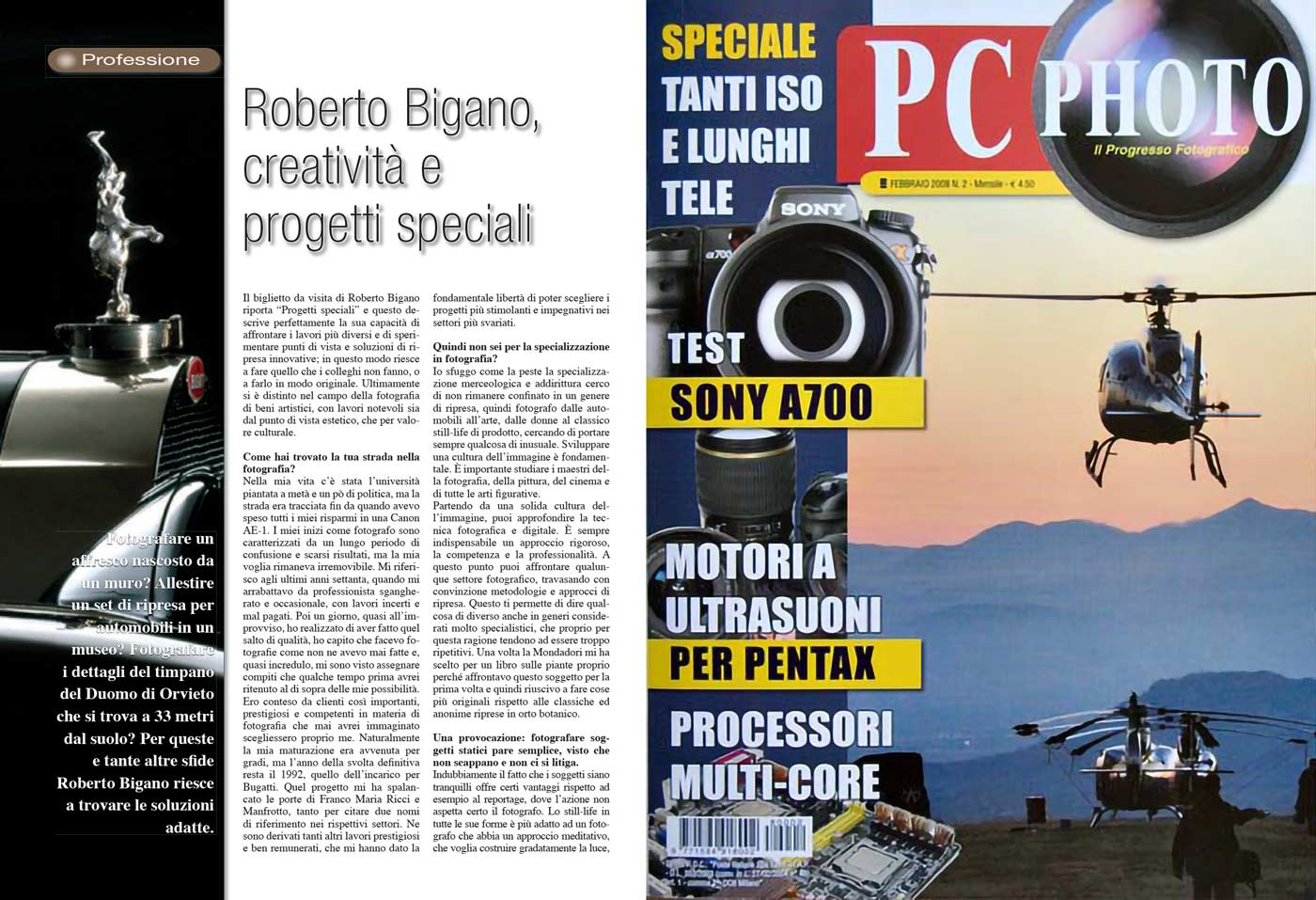 PC Photo About Roberto Bigano